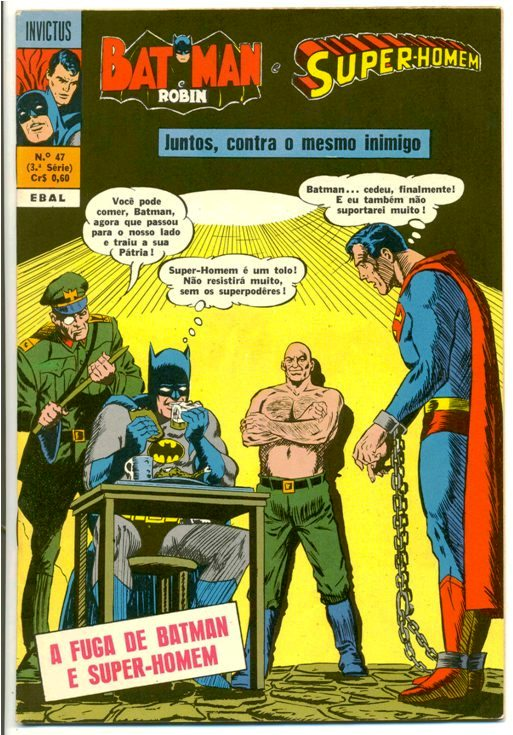 INVICTUS nº47 (BATMAN E SUPERMAN) - EBAL